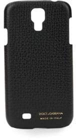 Dolce & Gabbana Pebbled Leather Samsung Galaxy 4 Case