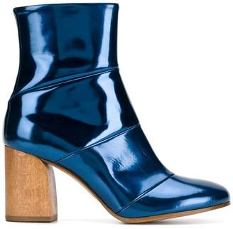 Christian Wijnants Abbas glossy ankle boots