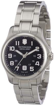 Victorinox Women's 241456 Officers XS Black Dial Watch