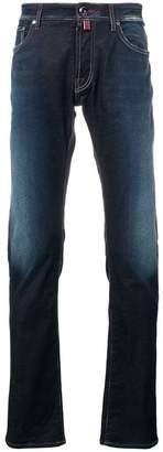 Jacob Cohen faded straight leg jeans