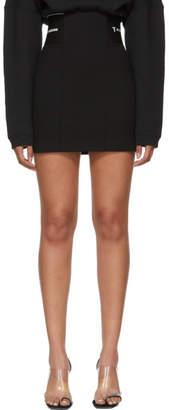 Alexander Wang Black Stretch Suiting Miniskirt