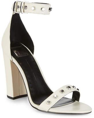48dc46cce928 Dolce Vita Hazella Metallic Anke-Strap Heeled Sandal