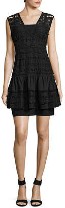 Tracy Reese Tiered Mini Dress