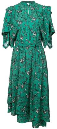 Robert Rodriguez asymmetrical dress