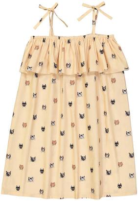 HELLO SIMONE Eurydice Cat Head Sunbath Dress $106.80 thestylecure.com