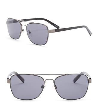 Joe's Jeans 56mm Navigator Sunglasses