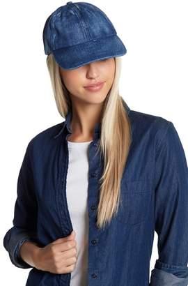 Melrose and Market Washed Denim Baseball Cap