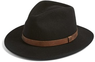 Men's Brixton 'Messer Ii' Felted Wool Fedora - Brown $64 thestylecure.com