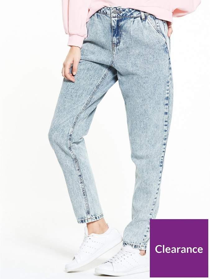 Megan Loose Vintage Jeans - Light Blue Denim