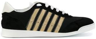 DSQUARED2 sneakers with gold detail