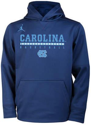 Nike North Carolina Tar Heels Therma Hooded Sweatshirt, Big Boys (8-20)