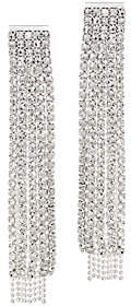 QVC The Nicole - Sparkly Fringe Drop Earrings