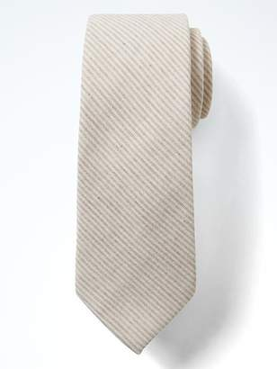 Banana Republic Cotton Stripe Nanotex® Tie