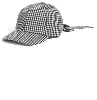 Women's Collection Xiix Bow Baseball Cap - Black $28 thestylecure.com