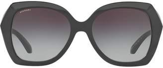 Bulgari oversized sunglasses