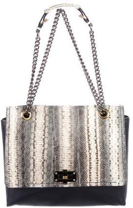 Lanvin Leather Flap Crossbody Bag