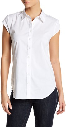 SUSINA Cap Sleeve Blouse $29.97 thestylecure.com
