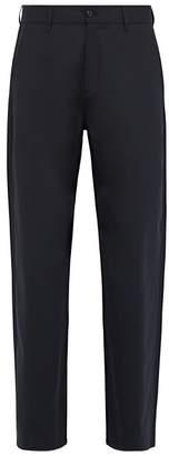 Hope Wind Mid Rise Straight Leg Trousers - Mens - Dark Blue
