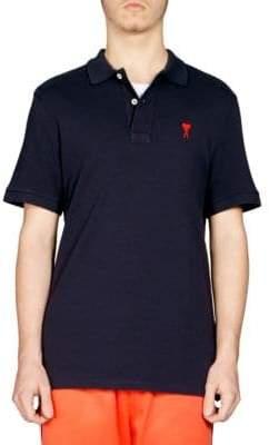 Ami Cotton Polo Shirt