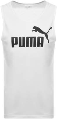 Puma Essentials Regular Fit Vest White