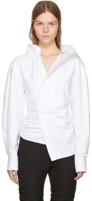 Jacquemus White La Chemise Elie Shirt