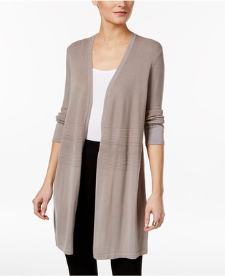 Alfani Mixed-Stitch Duster Cardigan, Only at Macy's $79.50 thestylecure.com