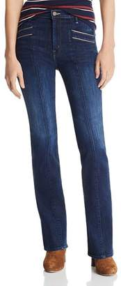 Mother The Slant Pocket Bootcut Jeans in Up Your Alley