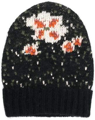 Twin-Set floral beanie