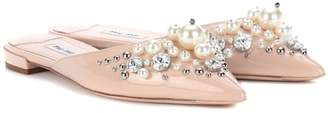 Miu Miu Exclusive to mytheresa.com – embellished slippers