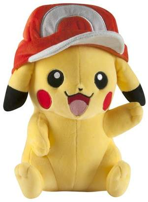 Pokemon Pikachu with Ash's Hat Large Plush