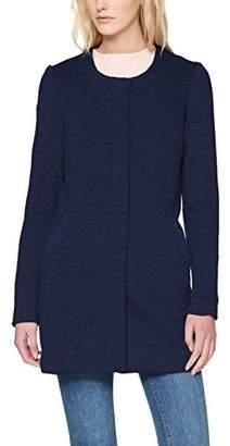 Only Women's Onlsidney Link Coat Cc OTW (Teal Green Detail:Melange), (Size: Medium)