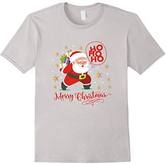 Merry Christmas Special T Shirt with HoHoHo Santa Gift Packs