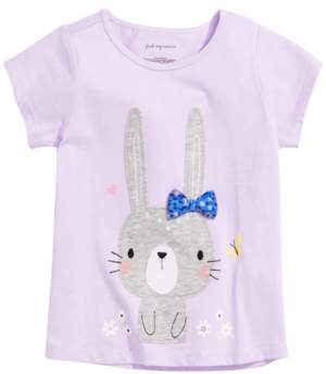 First Impressions Baby Girls Bunny-Print T-Shirt, Created for Macy's
