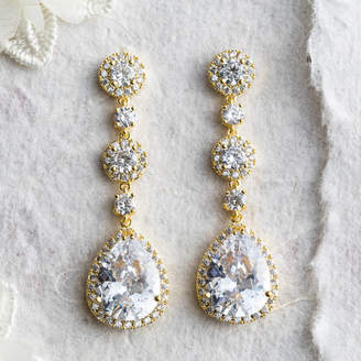 Lola & Alice Ayria Crystal Statement Earrings