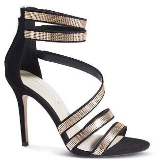 Karen Millen Women's Chainmail Strappy High-Heel Sandals