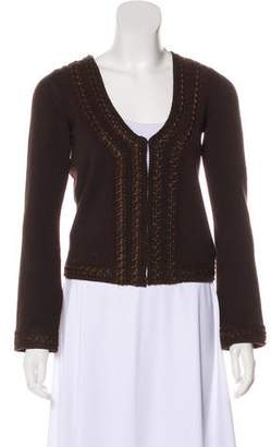 Andrew Gn Wool Knit Cardigan