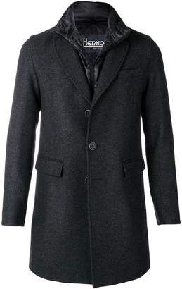 Herno classic single-breasted coat