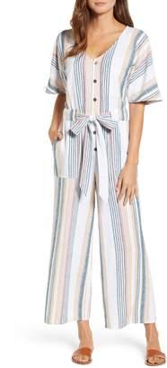 Caslon Stripe Jumpsuit