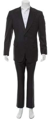 Gucci Pinstripe Wool Suit