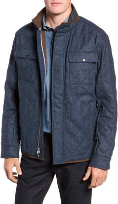Peter Millar Mountain Quilted Shirt Jacket