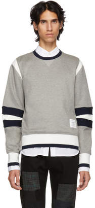 Thom Browne Grey Articulated Sweatshirt