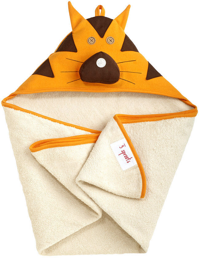 Tito Tiger Hooded Towel