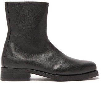 Our Legacy Camion Leather Boots - Mens - Black