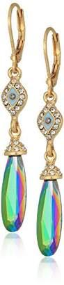lonna & lilly Gold Tone Motif Drop Earrings