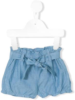 Tartine et Chocolat lace-up shorts