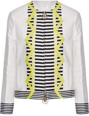 Versace Cotton-Blend Jacquard Jacket