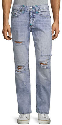 True Religion Slim-Fit Distressed Pant