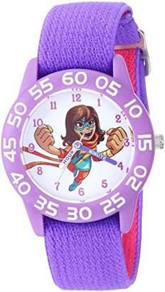 Marvel Girl's Super Hero' Quartz Plastic and Nylon Watch