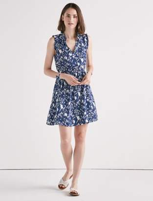 Lucky Brand PRINTED FLORAL MINI DRESS