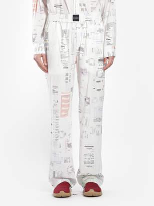 Vetements Trousers